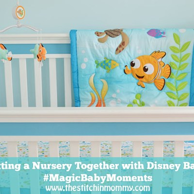 Putting a Nursery Together with Disney Baby #MagicBabyMoments