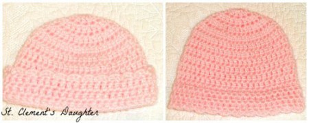 Little Crown Easy Newborn Cap Guest Post by St. Clements Daughter for The Stitchin' Mommy | www.thestitchinmommy.com