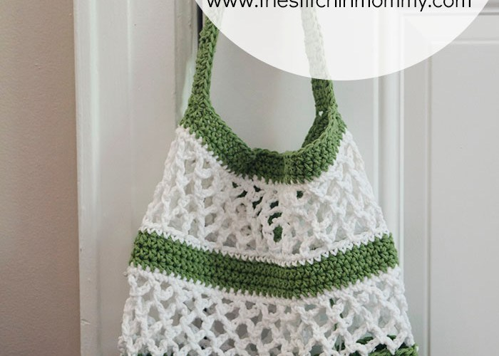 Go Green! Mesh Tote Pattern