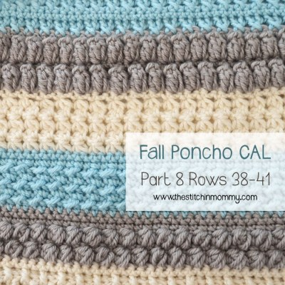 Crochet With Us Fall Poncho CAL – Part 8