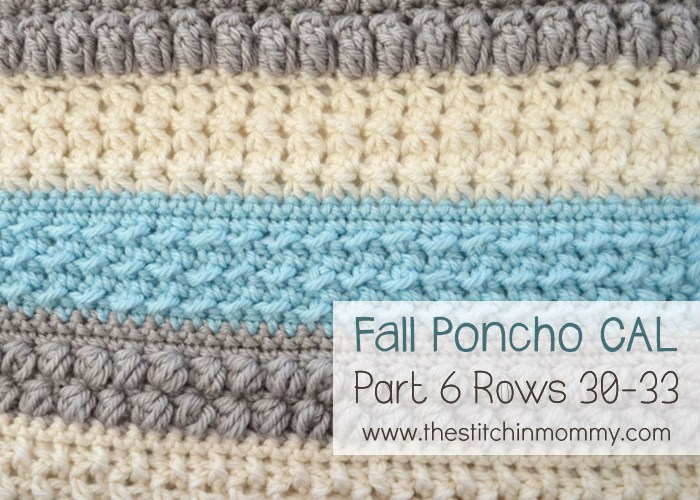 Crochet With Us Fall Poncho CAL – Part 6