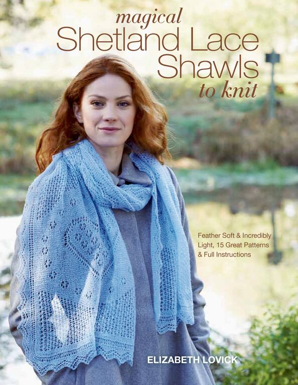 Magical Shetland Lace Shawls to Knit by Elizabeth Lovick: Book Review | www.thestitchinmommy.com