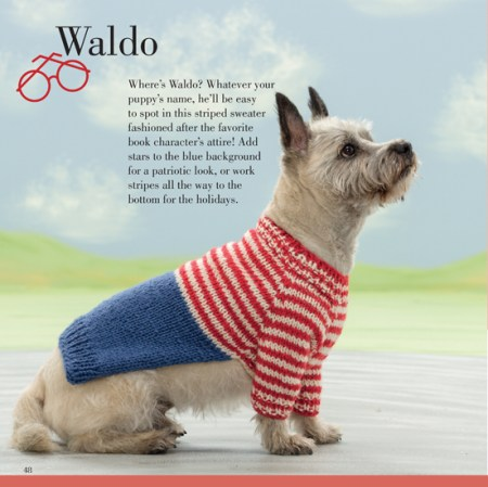 Seamless Knits for Posh Pups by Sharon Sebrow  - Book Review | www.thestitchinmommy.com