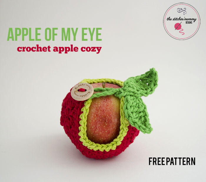 Apple Of My Eye Apple Cozy Free Pattern The Stitchin Mommy