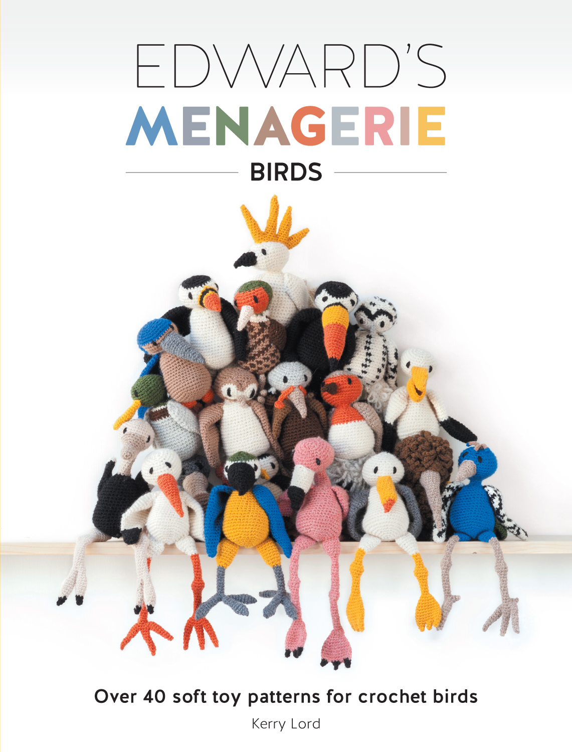 Edward's Menagerie - Birds: Over 14 Soft Toy Patterns for Crochet Birds: Book Review | www.thestitchinmommy.com
