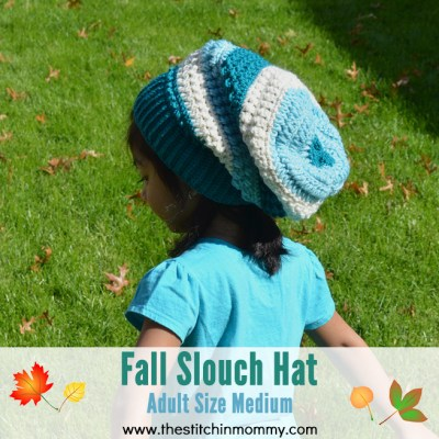 Fall Slouch Hat – Adult Size Medium