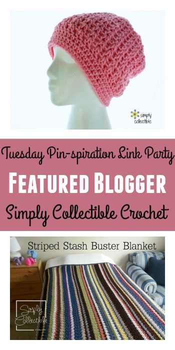 Tuesday PIN-spiration Link Party Featured Blogger - Simply Collectible Crochet | www.thestitchinmommy.com