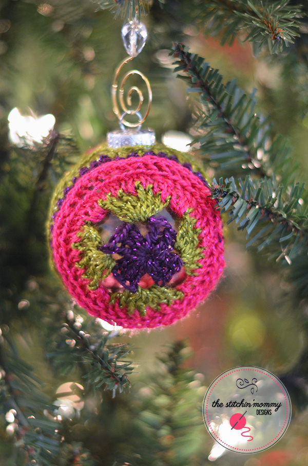 Crochet Christmas Tree Ornaments