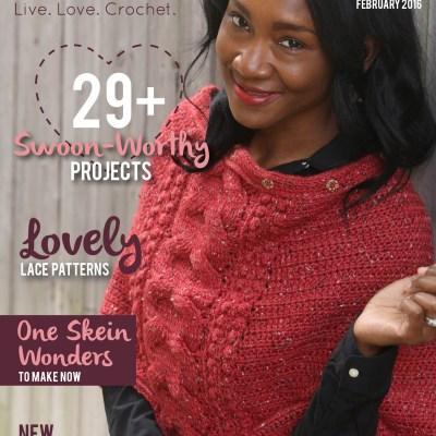 I Like Crochet Magazine – February 2016 Issue