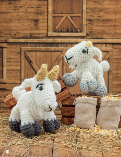 Crochet a Farm - 19 Cute-as-Can-Be Barnyard Creations by Megan Kreiner, published by Martingale - Book Review   www.thestitchinmommy.com