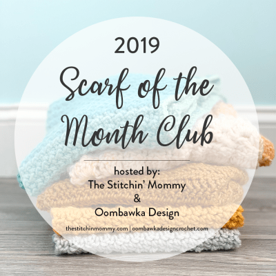 Announcing the 2019 Scarf of the Month Club!