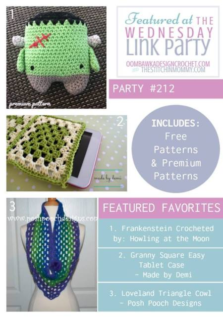 Featured Favorites at The Wednesday Link Party | www.thestitchinmommy.com