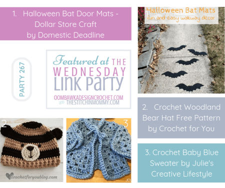 The Wednesday Link Party #267 Featured Favorites | www.thestitchinmommy.com