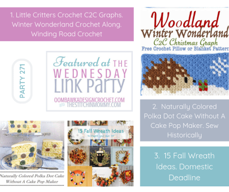 The Wednesday Link Party #271 Featured Favorites | www.thestitchinmommy.com