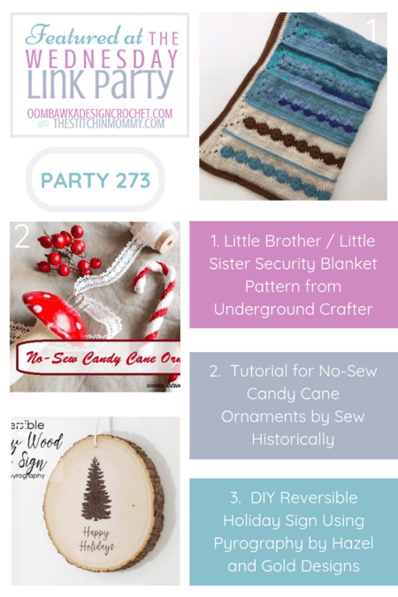 The Wednesday Link Party #273 Featured Favorites | www.thestitchinmommy.com