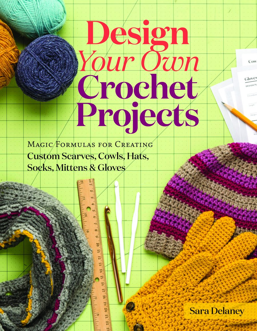 Design Your Own Crochet Projects by Sara Delaney - Book Review and Giveaway | www.thestitchinmommy.com