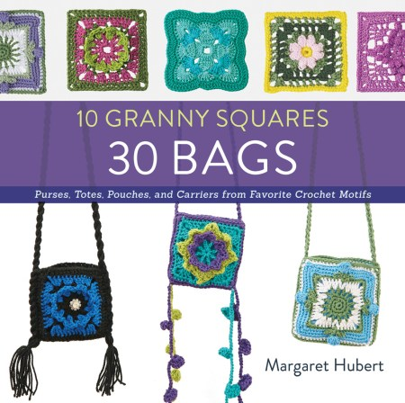 10 Granny Squares 30 Bags by Margaret Hubert - Book Review and Pattern Excerpt | www.thestitchinmommy.com