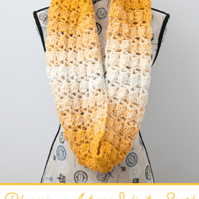 Blooming Autumn Infinity Scarf – Free Crochet Pattern