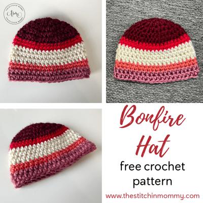 Bonfire Hat – Free Crochet Pattern