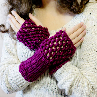 18 Free Crochet Patterns for Fingerless Gloves and Mitts - The ...