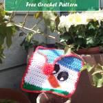 Snowman Afghan Square – Free Crochet Pattern