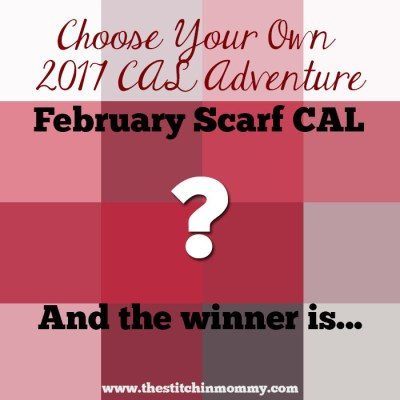 Choose Your Own 2017 CAL Adventure – February Scarf CAL