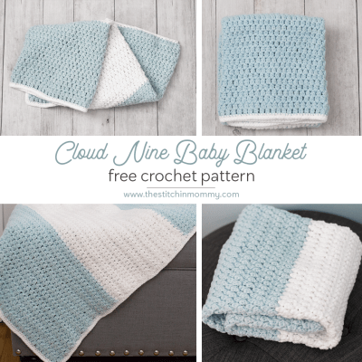 Cloud Nine Baby Blanket – Free Crochet Pattern