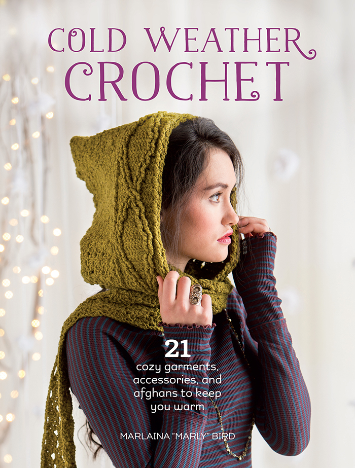 Cold Weather Crochet by Marly Bird - Book Review and Pattern Excerpt | www.thestitchinmommy.com