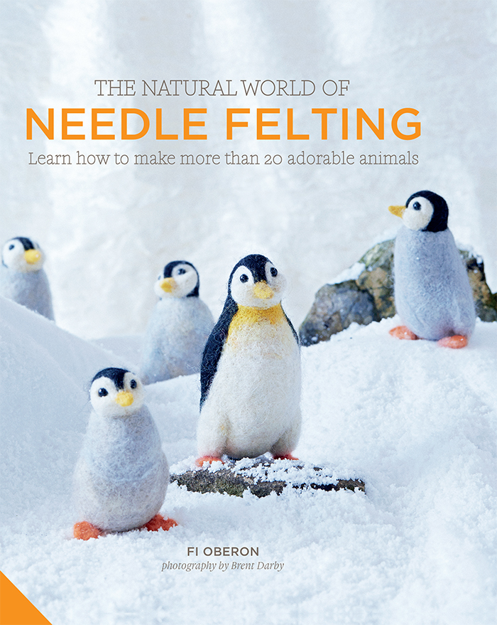 The Natural World of Needle Felting by Fi Oberon - Book Review | www.thestitchinmommy.com