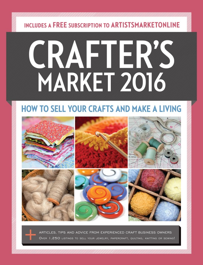 Crafter's Market 2016 edited by Kerry Bogert - Book Review   www.thestitchinmommy.com