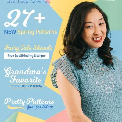 I've Been Featured in the April 2017 Issue of I Like Crochet Magazine!