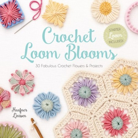 Crochet Loom Blooms - Book Review and Giveaway | www.thestitchinmommy.com