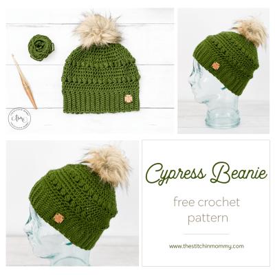 Cypress Beanie – Free Crochet Pattern