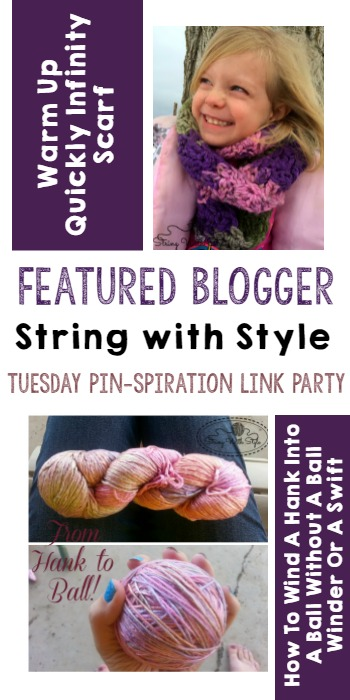 Tuesday PIN-spiration Link Party Featured Blogger - String with Style | www.thestitchinmommy.com