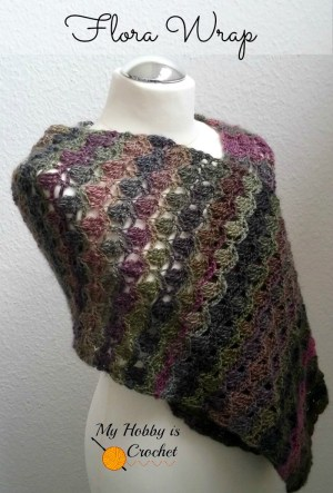 Flora Wrap Free Crochet Pattern
