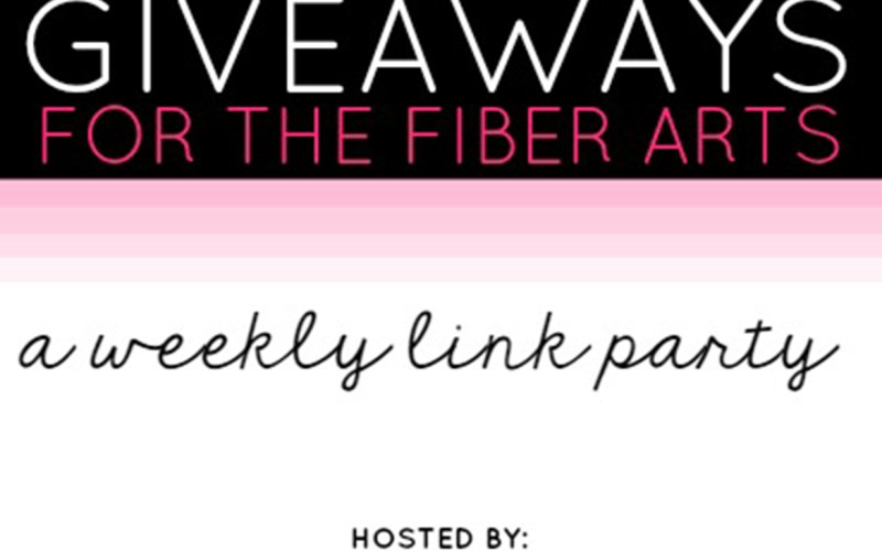 2017 Giveaways for the Fiber Arts – August Giveaways Week 5