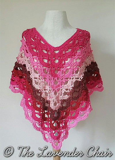 26 Free Wrap Shawl And Poncho Crochet Patterns The