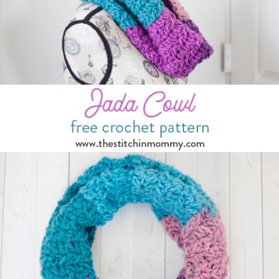 Jada Cowl – Free Crochet Pattern