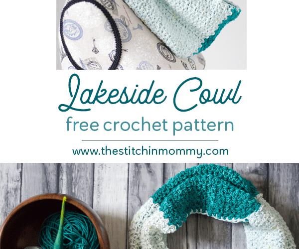 Lakeside Cowl – Free Crochet Pattern