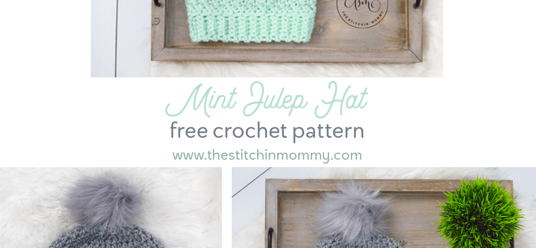 Mint Julep Hat – Free Crochet Pattern
