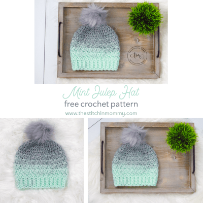 Mint Julep Hat – Free Crochet Pattern