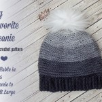 My Favorite Beanie – Free Crochet Pattern in Several Sizes!