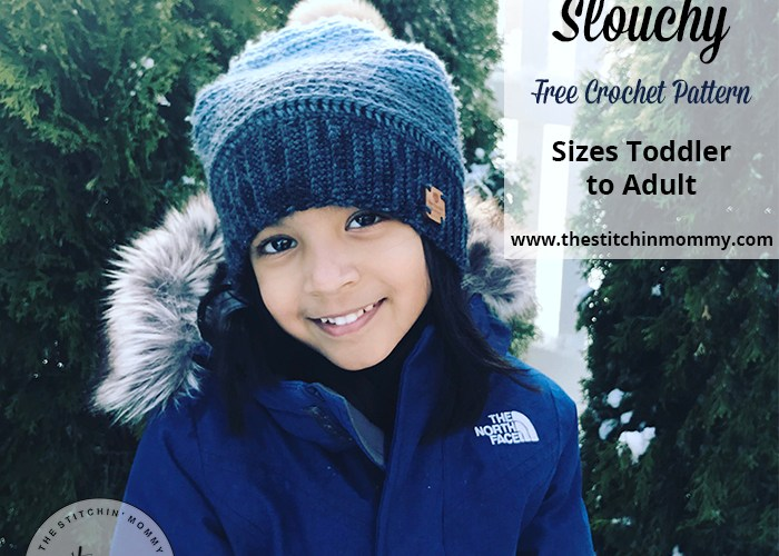My Favorite Slouchy – Free Crochet Pattern in Sizes Toddler to Adult