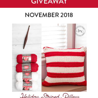 Monthly Yarn, Hook and Pattern Giveaway – November 2018 featuring Red Heart and Furls