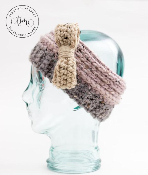Oatmeal Cookie Headband Earwarmer - Free Crochet Pattern - The ...