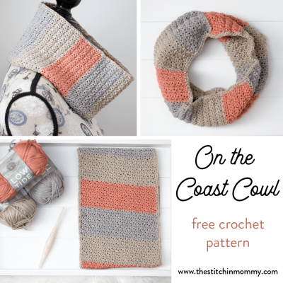 On the Coast Cowl – Free Crochet Pattern