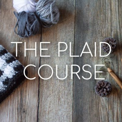 Learn Crochet Plaid with Whistle and Ivy