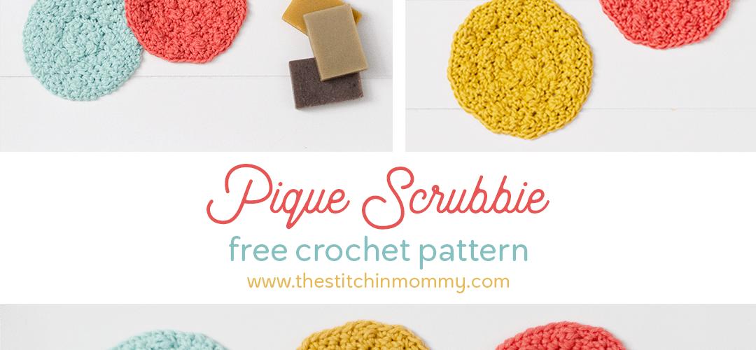 Pique Scrubbie – Free Crochet Pattern