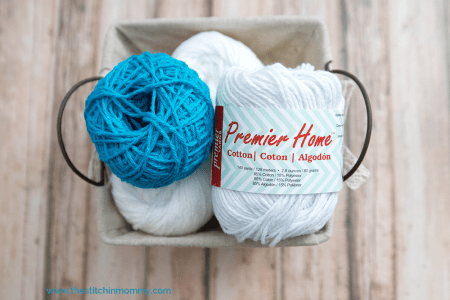 #CelebrateMomCAL Premier Home® Cotton Yarn Review | www.thestitchinmommy.com