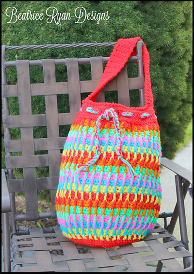 18 Free Crochet Boho Bohemian And Groovy Inspired Bag Patterns